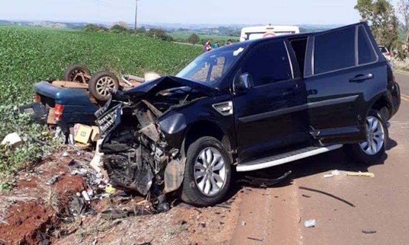 Empresário Claudemir Portes de Pitanga se envolve em acidente com morte em Nova Cantú