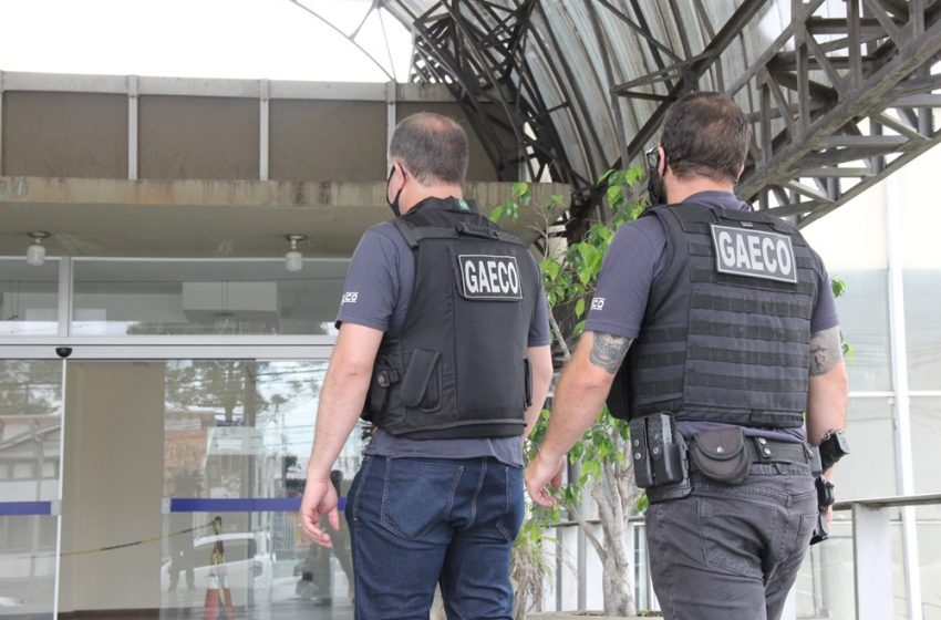 Vereador e quatro empresários de Ponta Grossa já presos, são denunciados pelo MPPR