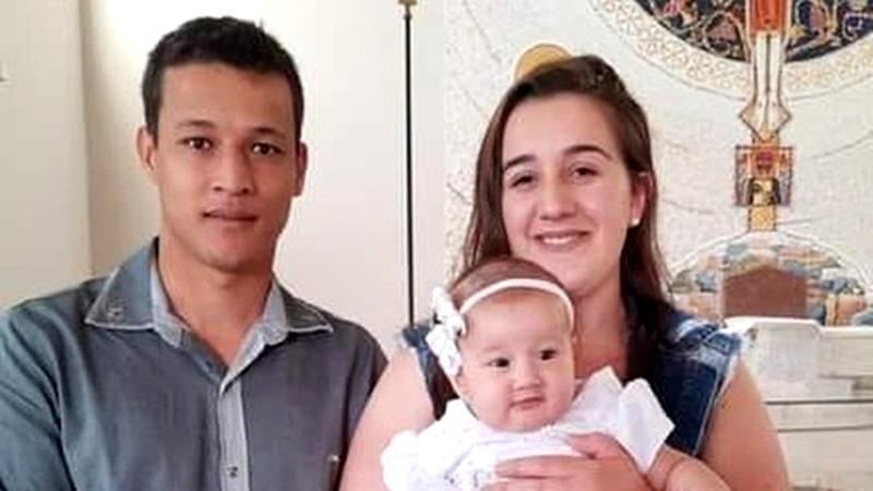 Ivaiporã – Casal e filha de um ano morrem após caminhonete rampar e cair sobre carro das vítimas