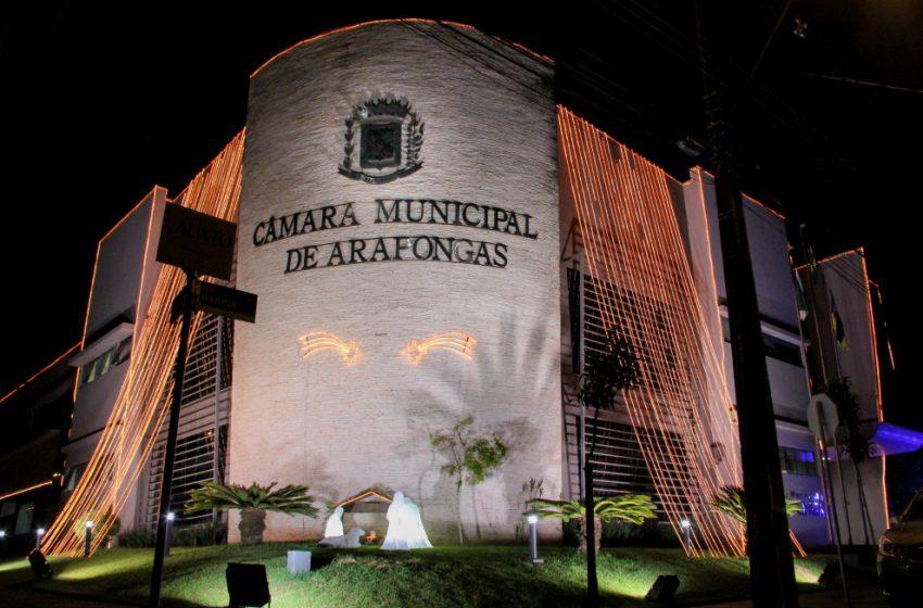 Presidente e Contador da Câmara de Arapongas foram presos preventivamente pelo Gaeco