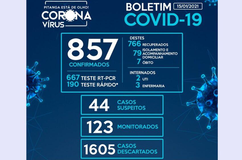 Pitanga registra mais 17, e Boa Ventura, mais 18 casos da Covid-19, diz relatórios