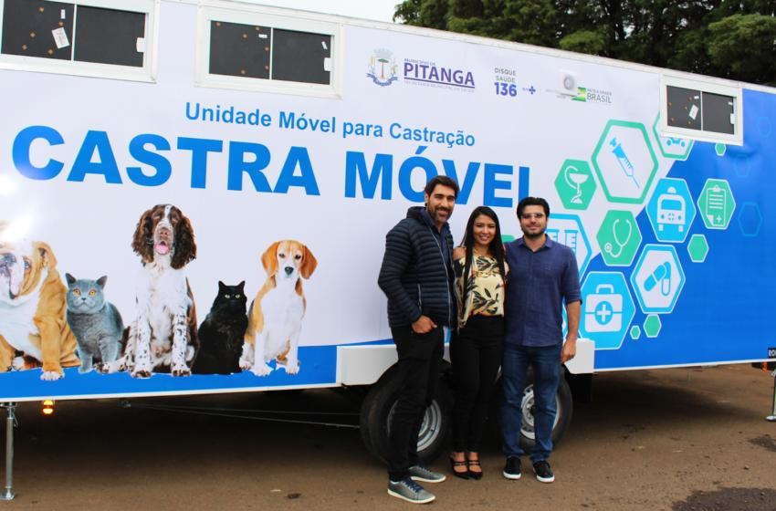 Programa estadual esteriliza 166 animais domésticos de Capanema