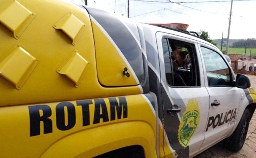 Rotam cumpre mandado de prisão em desfavor de homem fugitivo da Penitenciária de Ponta Grossa