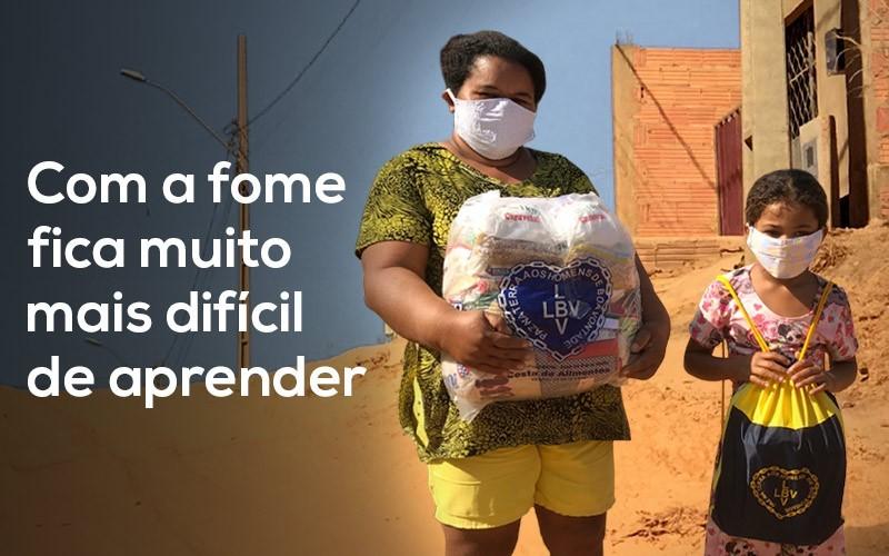LBV irá entregar kits de material escolar em todo o Brasil