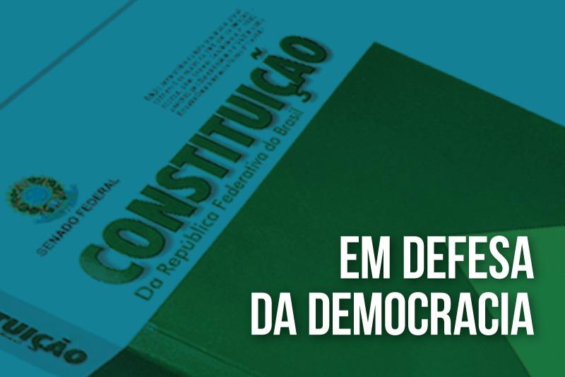 MPPR condena ataques a instituições e reitera defesa da democracia