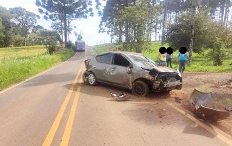 Homem morre após capotamento na PR-820, em Boa Ventura de São Roque