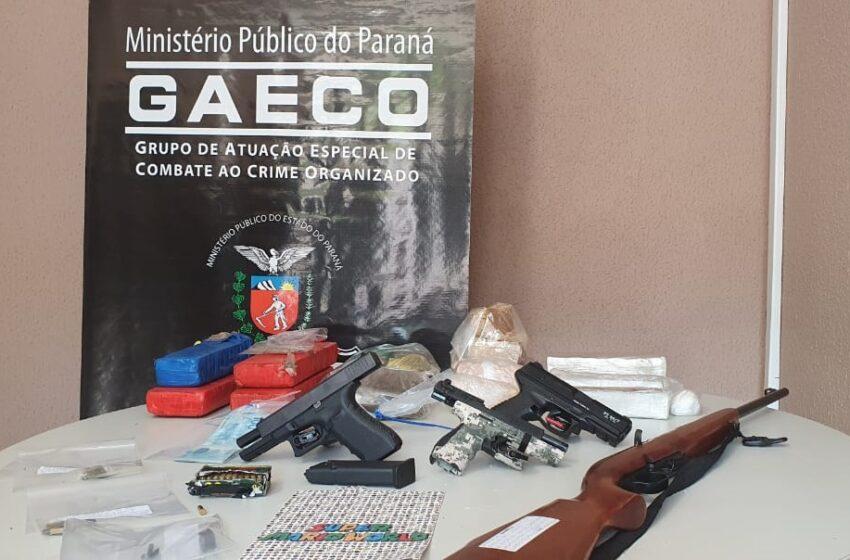 Gaeco de Francisco Beltrão cumpre mandados de prisão e de busca e apreensão contra organização criminosa que atuava em unidade prisional