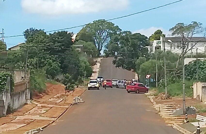 Acidente próximo ao Núcleo Regional de Educação em Pitanga envolve dois veículos e uma pessoa fica ferida