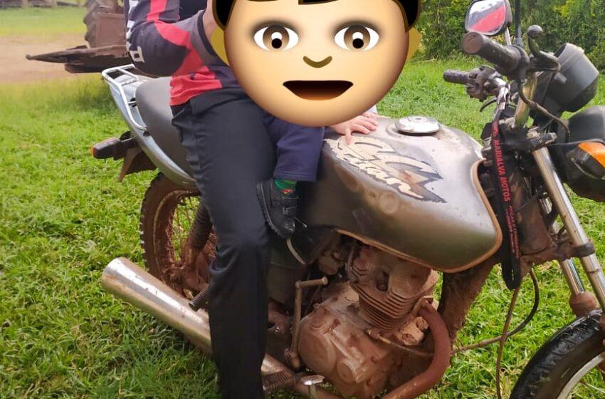 Moto é furtada em Pitanga. O condutor veio participar de um curso e teve a sua moto furtada