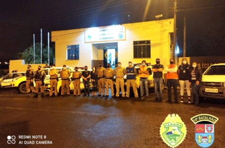Polícia Militar realiza Operação AIFU em Pitanga. Vários comércios foram fiscalizados