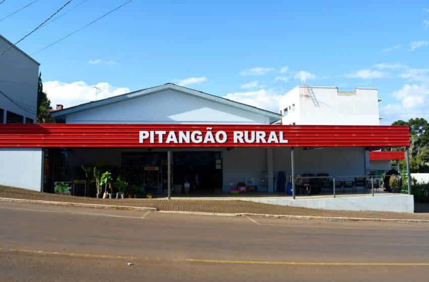 Pitangão Rural Purina investe na renovação. A grande loja de variedades da região