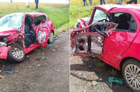 Mais um trágico acidente com morte na PRC-466 entre Pitanga e o Trevo de acesso a Santa Maria do Oeste