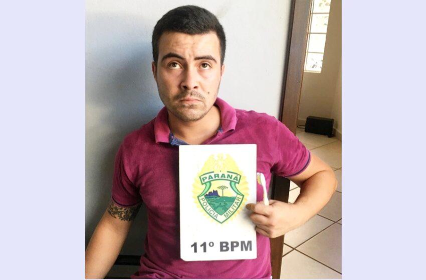 Land Rover furtada em Pitanga foi recuperada em Campo Mourão, e o autor foi preso