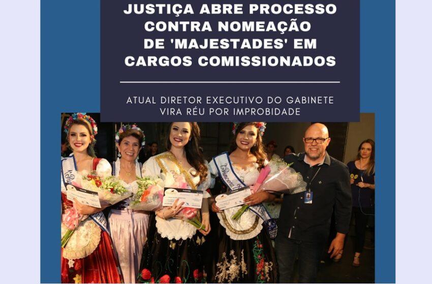Justiça recebe ação contra nomeação de 'majestades' da Münchenfest