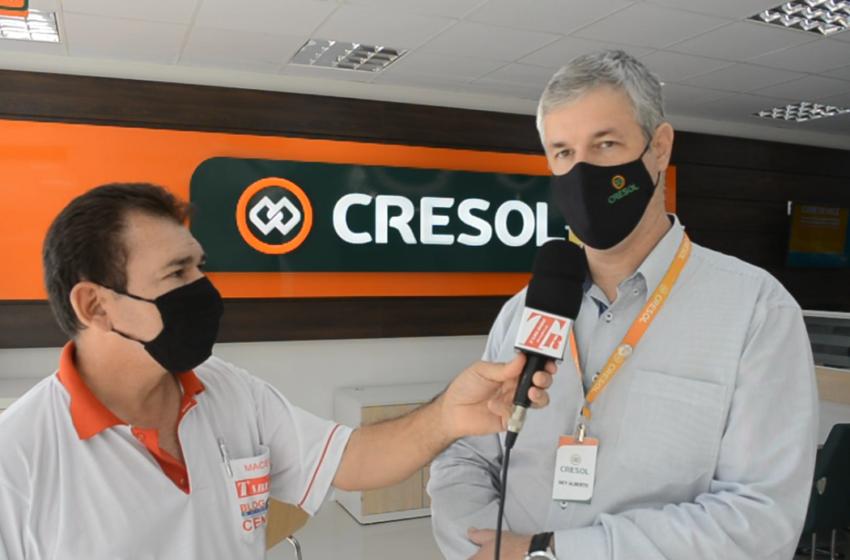 Gerente fala das novidades da Cresol Pitanga em suas novas estruturas