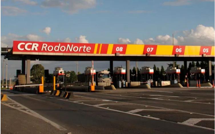 Tarifas de pedágio da Rodonorte são reajustadas em 8% neste sábado (24)