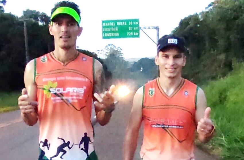 Maratonistas de Manoel Ribas fazem 32km em Prova Teste Resistência