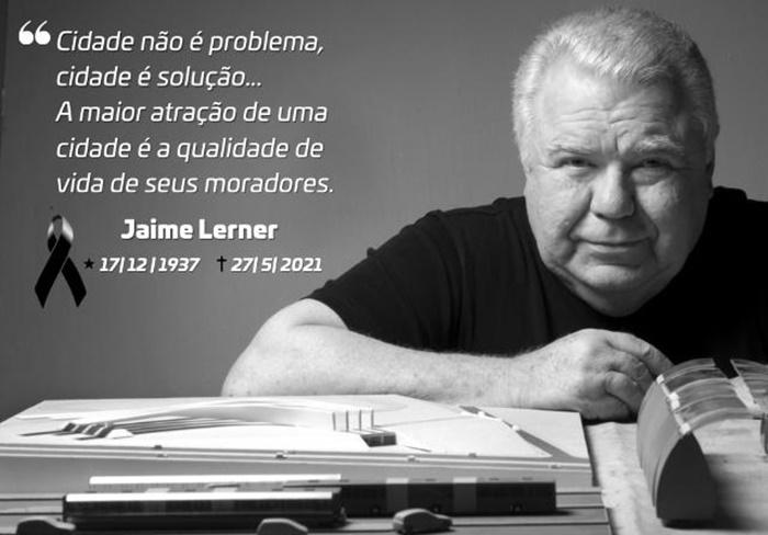 TCE-PR lamenta a morte do ex-governador e ex-prefeito de Curitiba Jaime Lerner