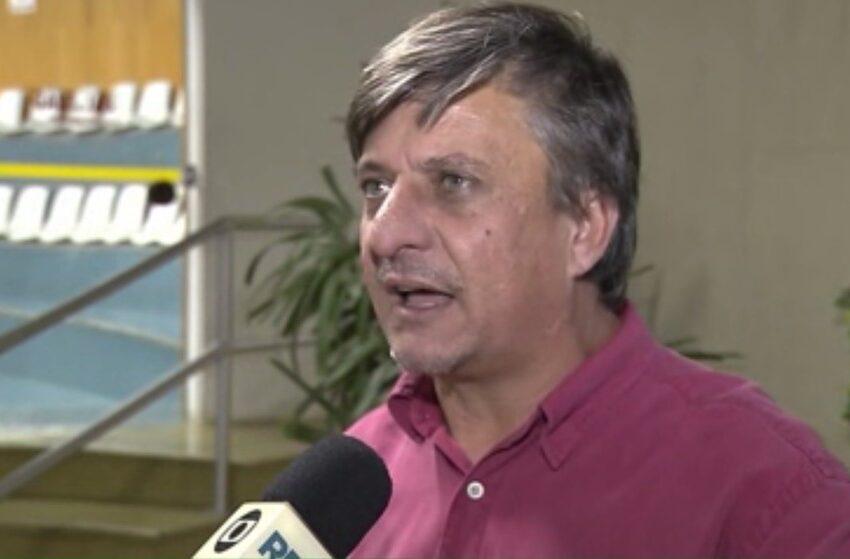 Deputado federal Boca Aberta se apresenta para cumprir pena de prisão, em Londrina