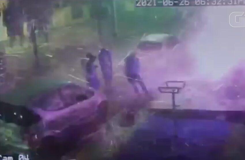 Explosão em hamburgueria deixa quatro pessoas feridas em Ivaiporã
