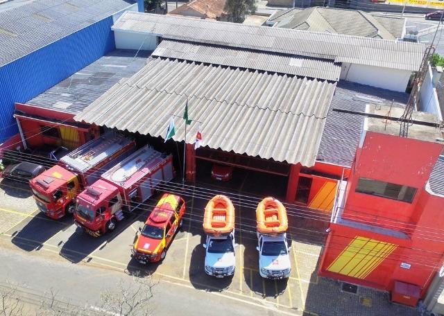 Suspensa licitação de Guarapuava para ampliar sede do Corpo de Bombeiros